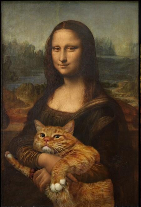 La Gioconda con Zarathustra: il gatto rosso in mostra