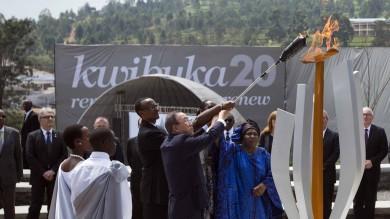 Genocidio in Ruanda, 20 anni dopo fiaccola memoria brucerà per 100 giorni