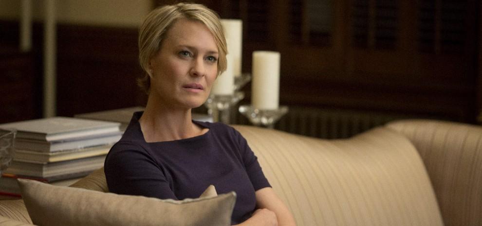 """Robin Wright: """"Io sono Claire, una manipolatrice con tanto cervello"""""""