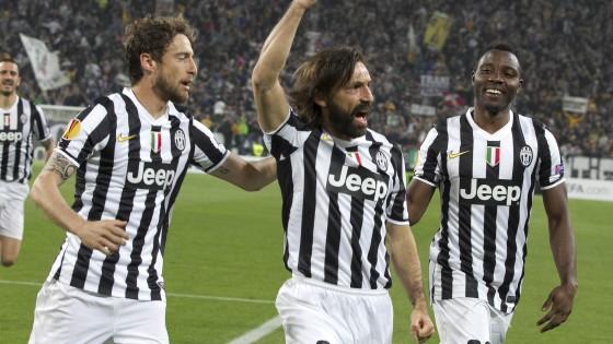 Juventus-Lione 2-1: Pirlo e Marchisio trascinano i bianconeri in semifinale