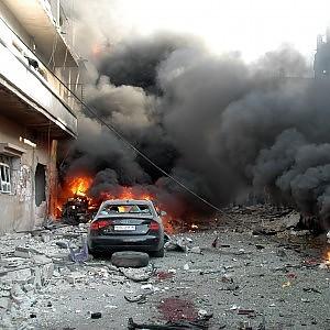 Siria, nuovo attacco chimico contro villaggio