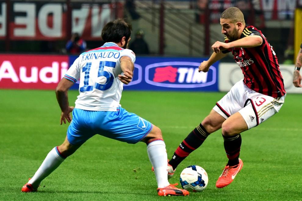 Milan-Catania, il film della partita