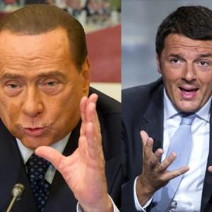 """Riforme, Berlusconi a Palazzo Chigi con Renzi. """"Il patto tiene"""""""