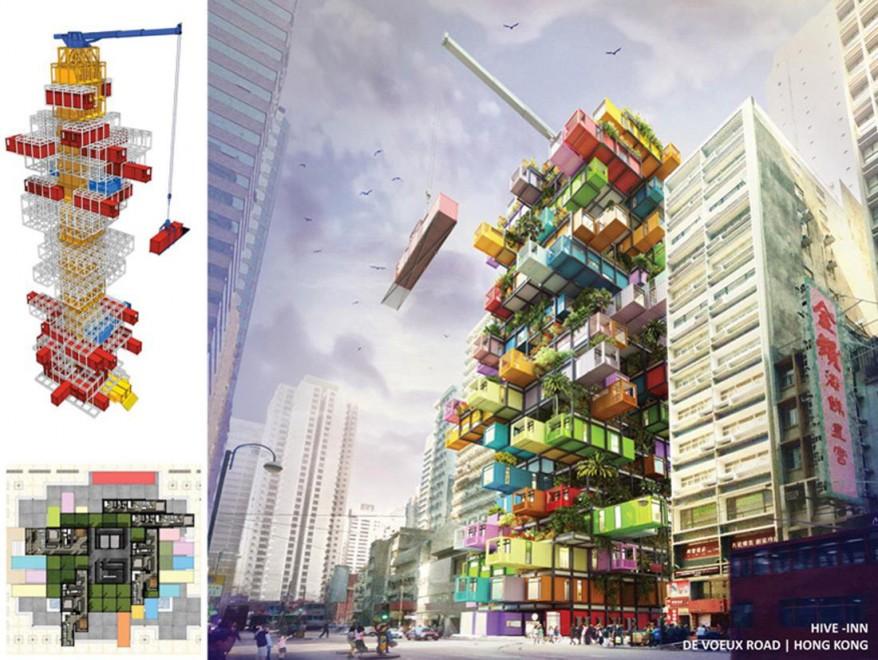 architettura del futuro il palazzo 39 tetris 39