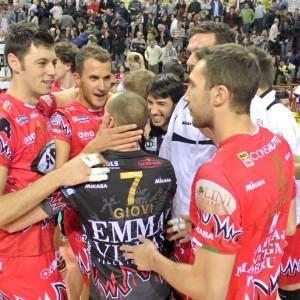 Volley, semifinale scudetto: Perugia-Piacenza 3-2. Si decide tutto in gara cinque