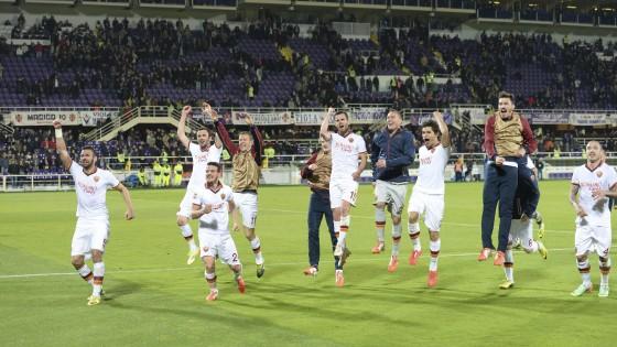 Fiorentina-Roma 0-1, Nainggolan firma la Champions