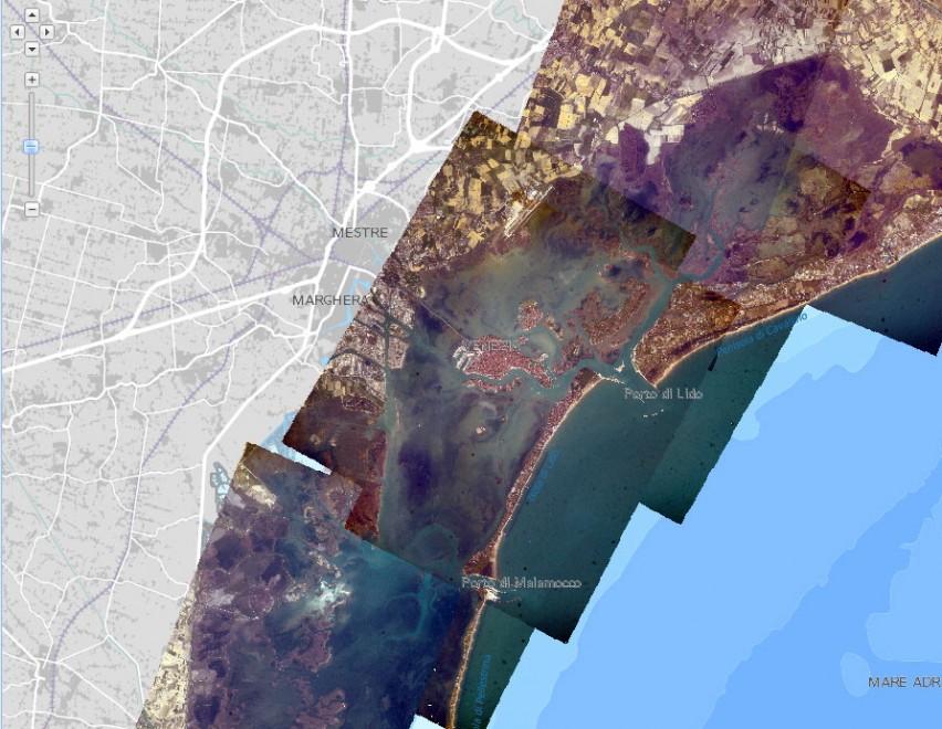 Venezia, le foto degli astronauti della Iss