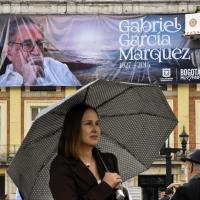 Colombia, l'addio a Garcia Marquez sotto la pioggia