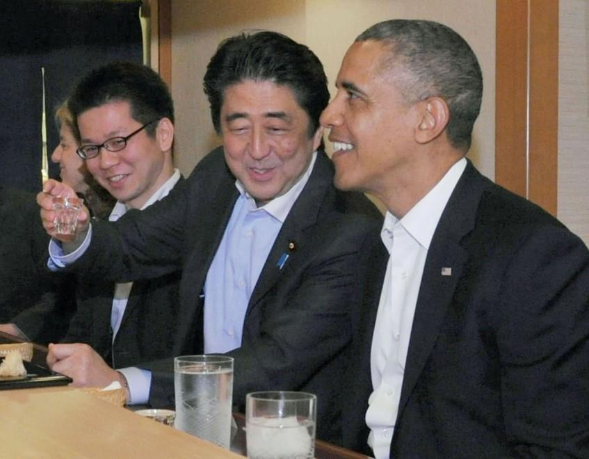 Giappone, a Obama il miglior sushi al mondo: lui si ferma a metà pasto