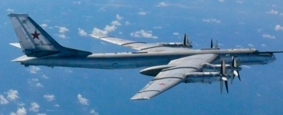 Aereo Da Caccia Dei Russi : Ucraina bombardieri russi violano spazio aereo nato