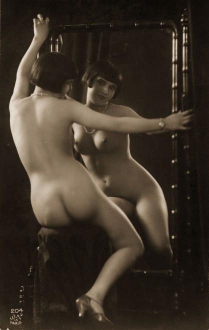 Cartoline Art deco: quegli erotici anni Venti