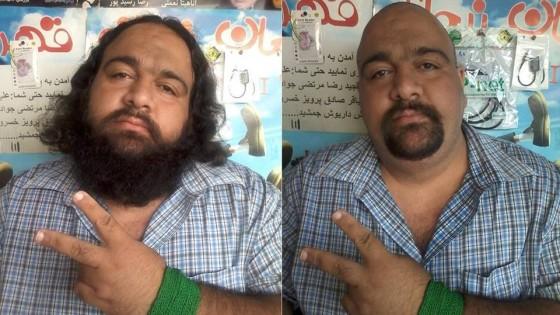 """Iran, capelli a zero contro il regime """"Basta massacri in ..."""