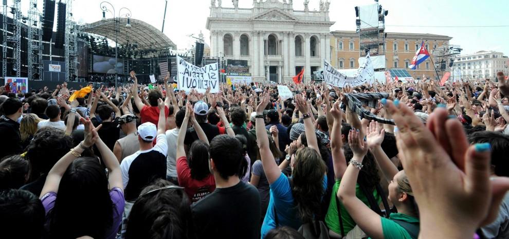 Il primo maggio non si canta solo a Roma, tutti i live della settimana