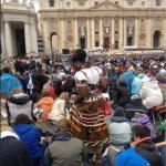 Il giorno dei due Papi: le immagini da Twitter