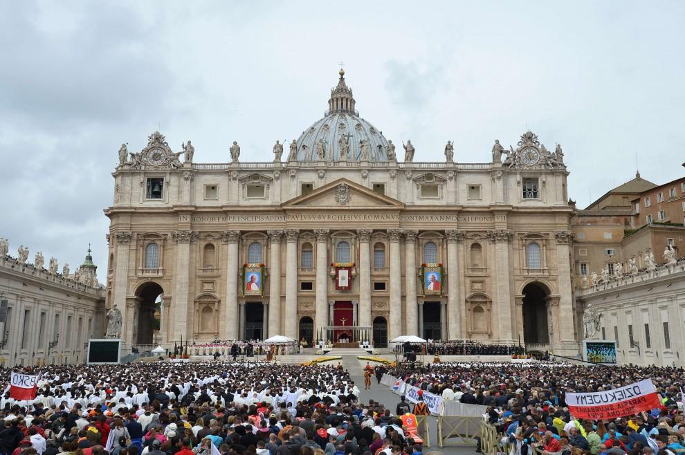 Foto beatificazione giovanni paolo 2 71