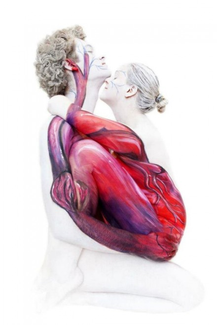 La fotoraccolta: quando il bodypainting è incredibile