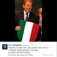 Addio 'Vuja' Boskov, il cordoglio su Twitter