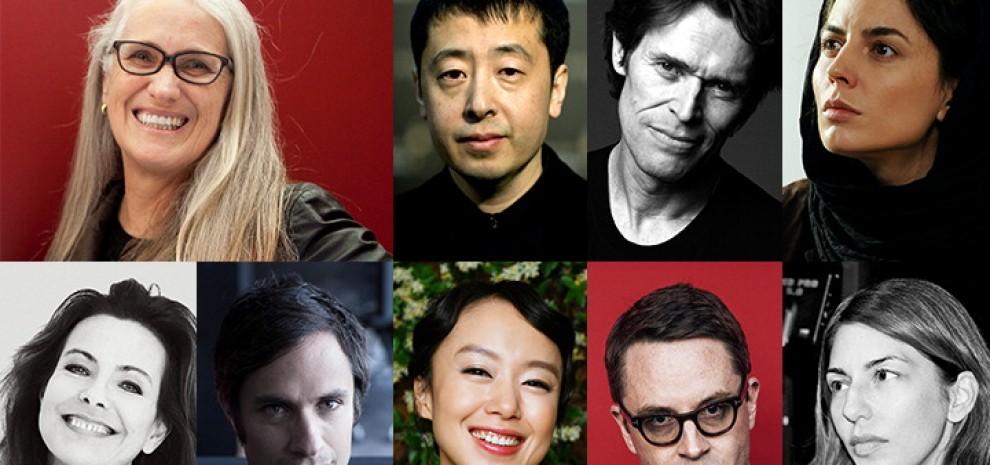 Cannes, in giuria con Jane Campion Bernal, Bouquet, Coppola, Dafoe