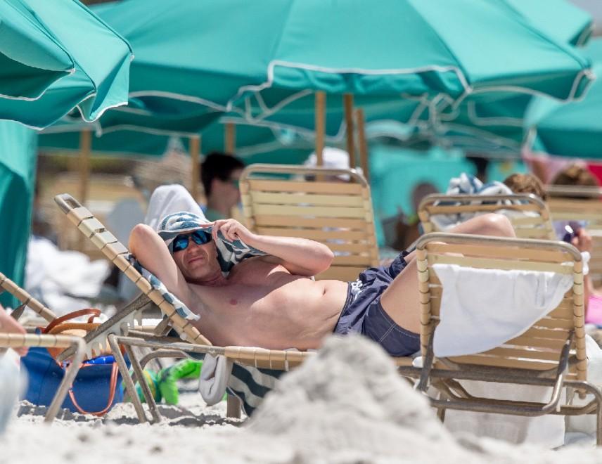 Moyes si rilassa a Miami dopo il flop di Manchester