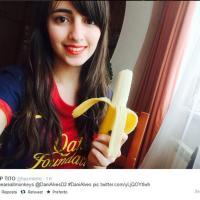 #siamotuttiscimmie, foto con banane: i social per Dani Alves