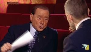 Berlusconi in tv, nemmeno uno spettatore in più