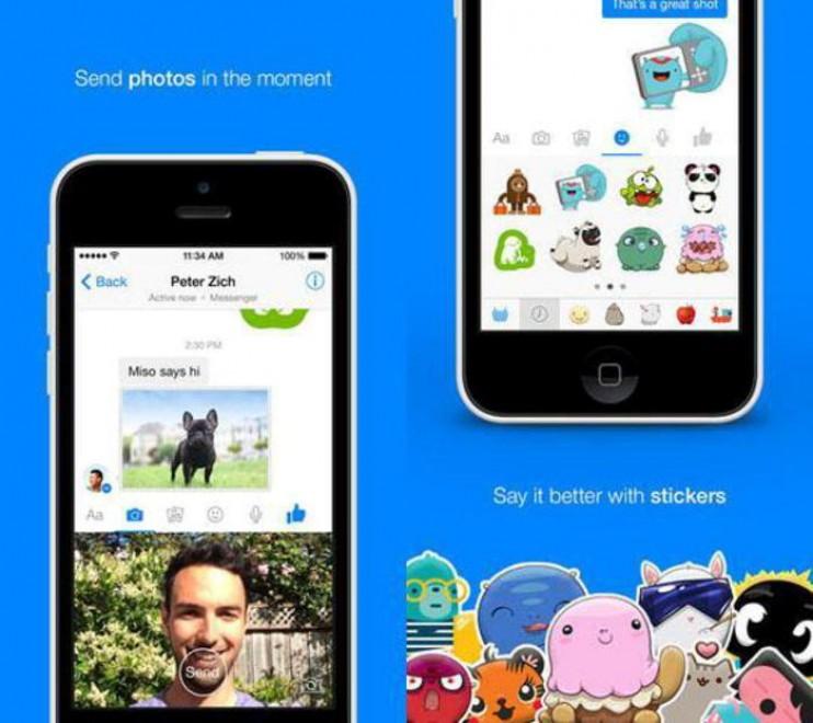 """Fb Messenger, """"selfie"""" più istantanei"""