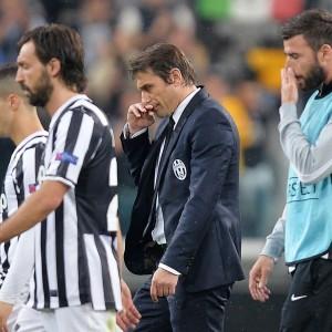 Juventus, Conte: ''Benfica senza merito, presi in giro dall'arbitro''