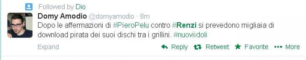Pelù contro Renzi: i commenti su Twitter