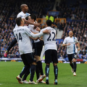Inghilterra: Manchester City supera l'ostacolo Everton, titolo pi� vicino
