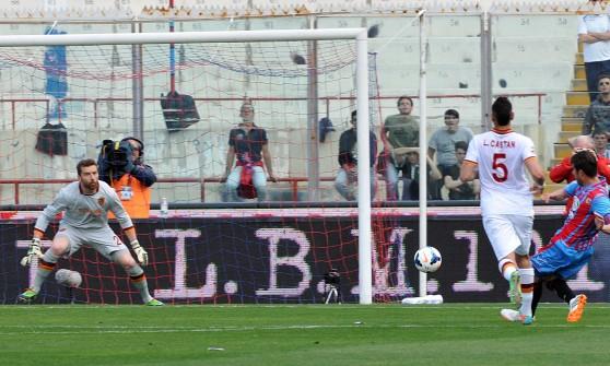 Catania-Roma 4-1: crollo giallorosso, i siciliani sperano ancora