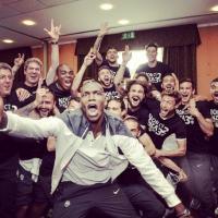 Juventus, tutti i selfie dello scudetto