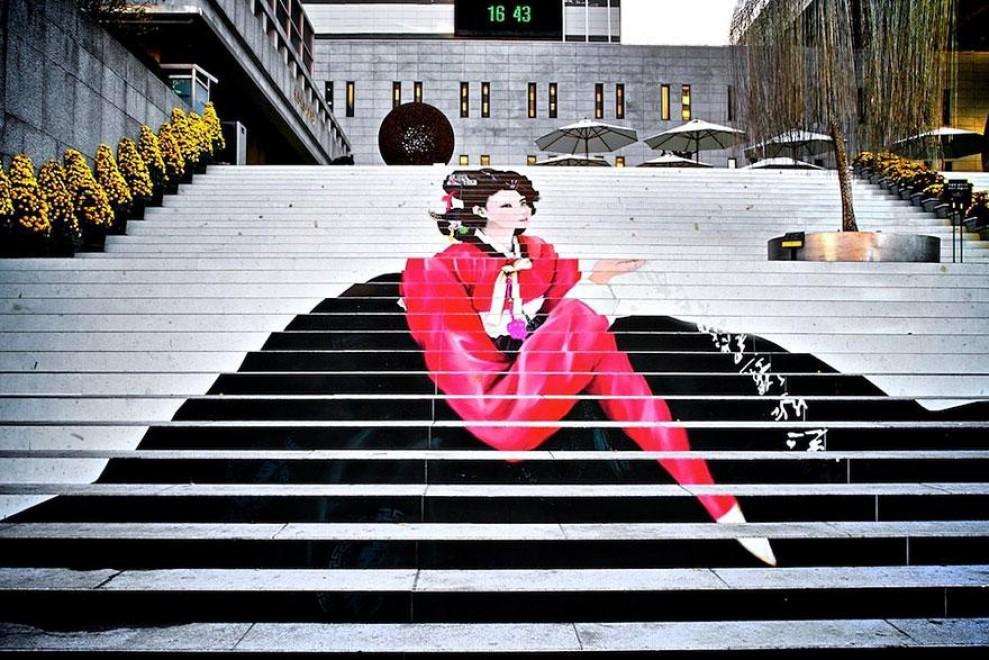Ogni gradino un colore: le scale più belle del mondo - Repubblica.it