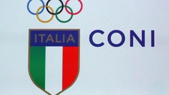 coni  ecco il nuovo logo  stemma tricolore  torna la