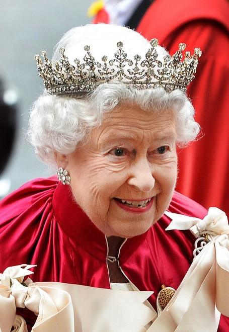 Cerimonia dei Cavalieri del Bagno: la Regina Elisabetta a Westminster