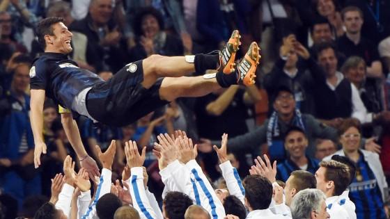 Inter, Zanetti commosso: ''Lascio al momento giusto. I tifosi? Meravigliosi''