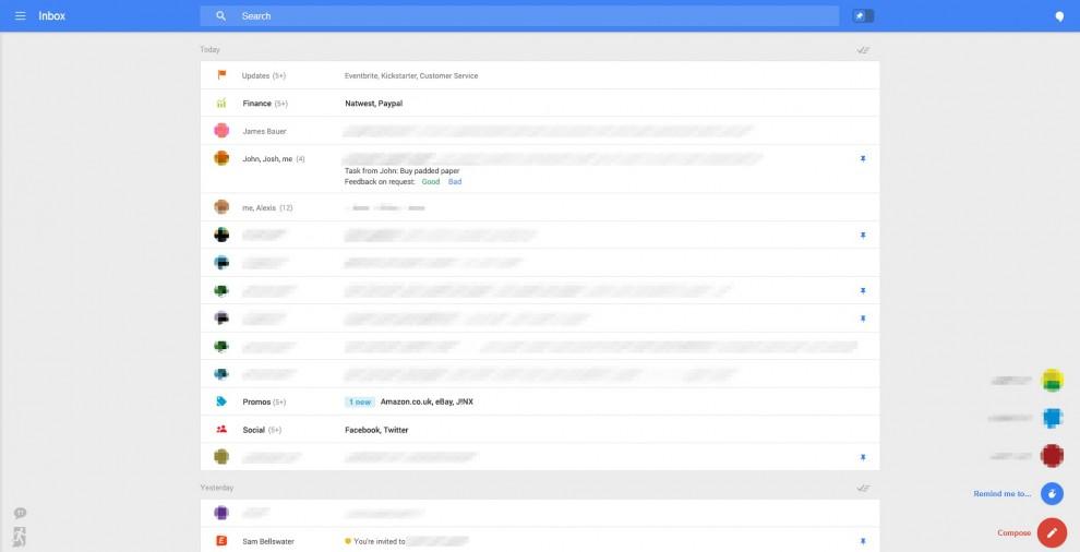 Gmail cambia look, ecco l'anteprima
