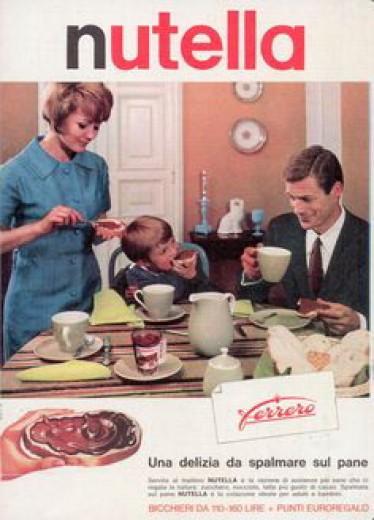 Nutella, una storia di 50 anni per immagini