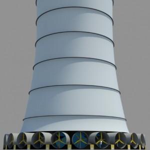 La prima torre solare eolica del mondo sorgerà in Arizona