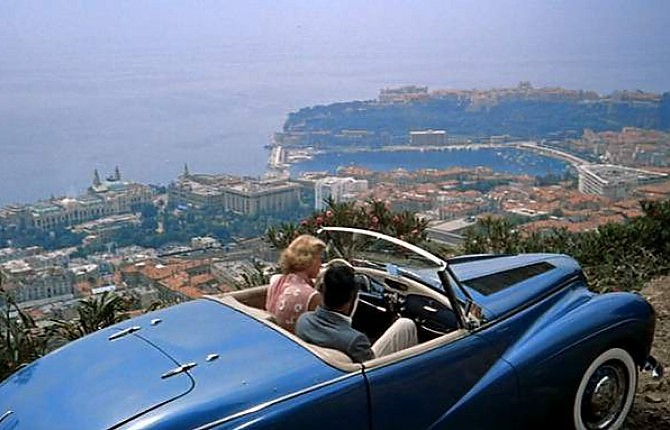 Auto inglesi e strade francesi nel destino di Grace Kelly