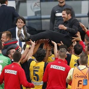 Barcellona-Atletico Madrid 1-1, Simeone vince la Liga
