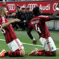 Milan-Sassuolo 2-1: Muntari e de Jong non bastano, addio Europa