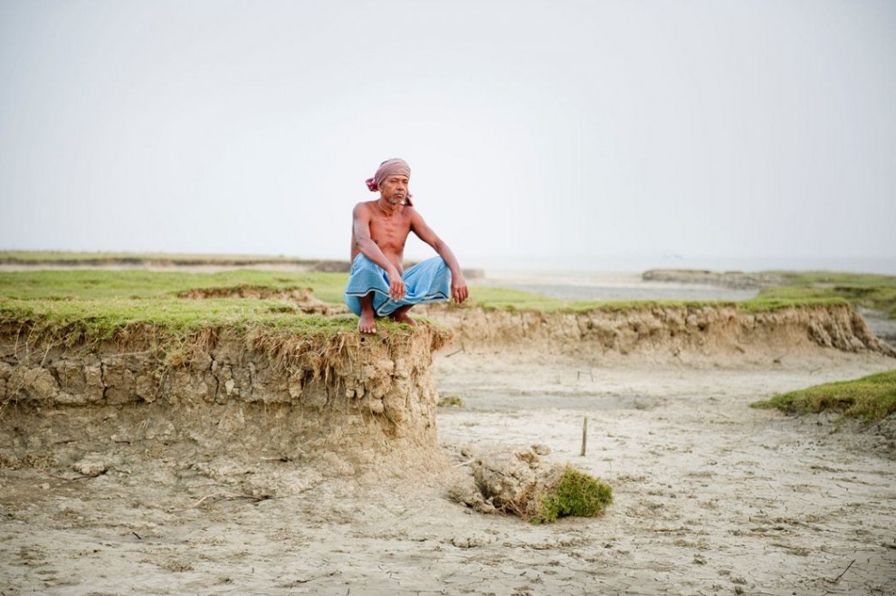 L'isola inghiottita dal fiume: il villaggio sfollato