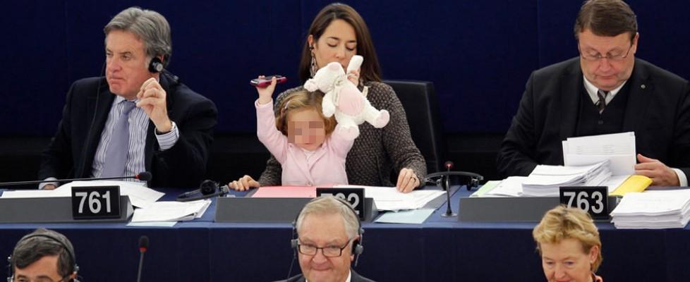Più donne a Strasburgo, ma la parità è lontana