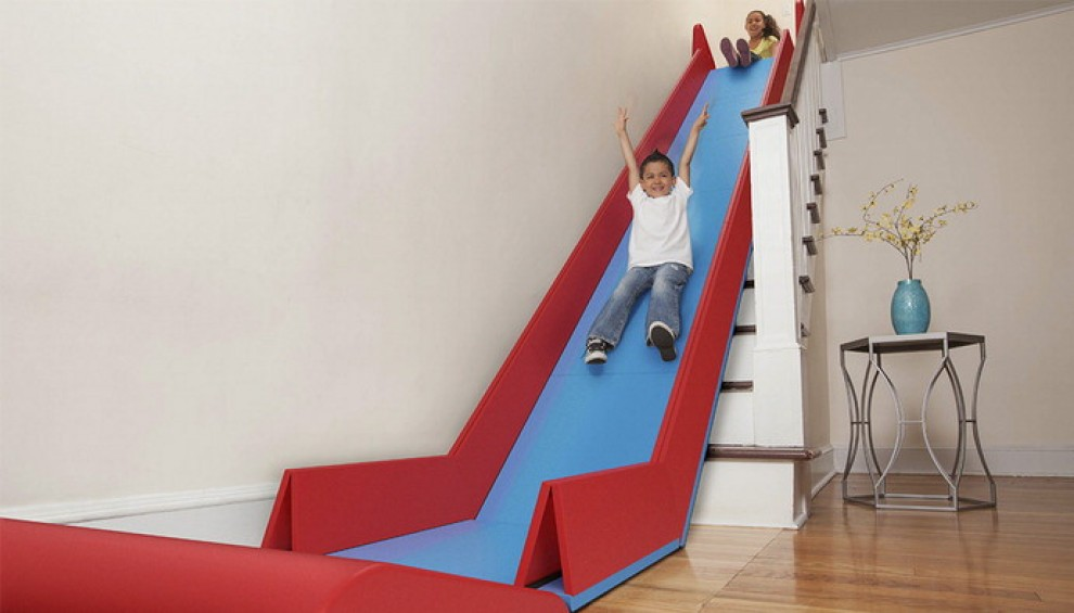 Addio alle scale: lo scivolo gigante è dentro casa - Repubblica.it
