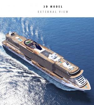 Fincantieri, maxi-commessa da Msc Crociere: fino a tre navi per 2,1 miliardi