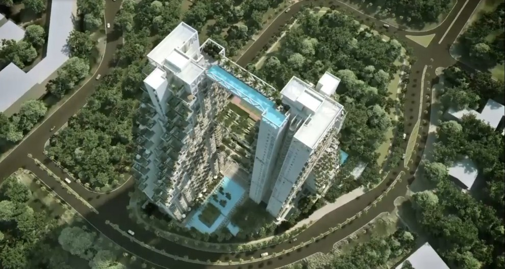 A nuoto tra i grattacieli la piscina fa da ponte - Albergo a singapore con piscina sul tetto ...