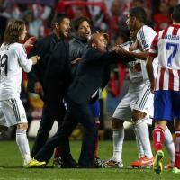 Real Madrid-Atletico, finale rovente: a Simeone saltano i nervi
