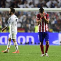 Finale Champions, la delusione dell'Atletico Madrid