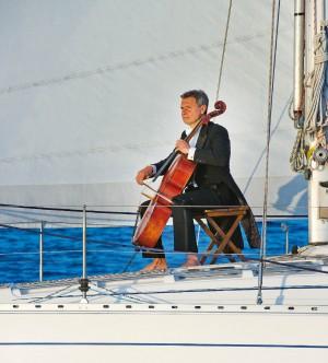 Via dal palcoscenico per vivere in mare, la scelta del musicista Soldatini