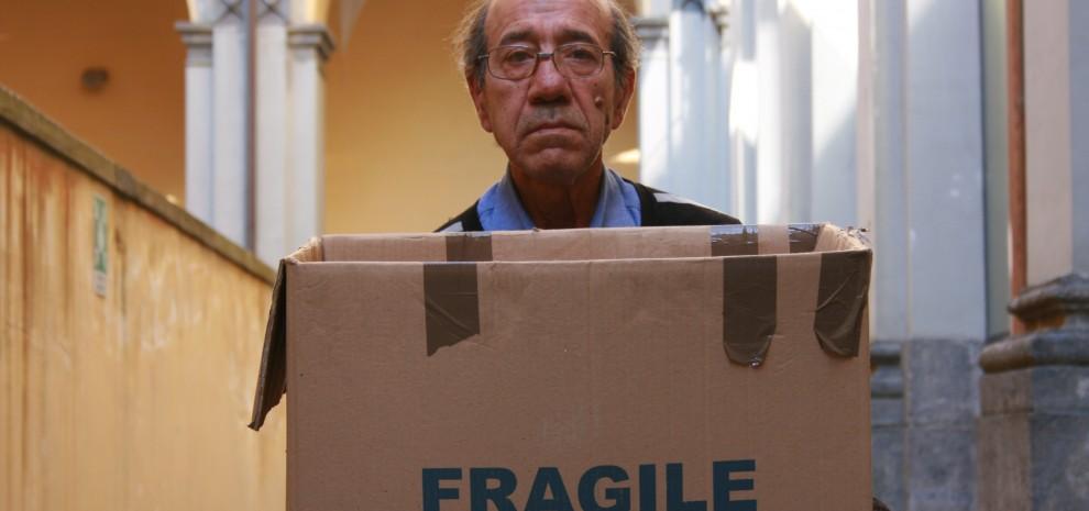 Festival di Napoli, Caravaggio nel dormitorio con Davide Iodice